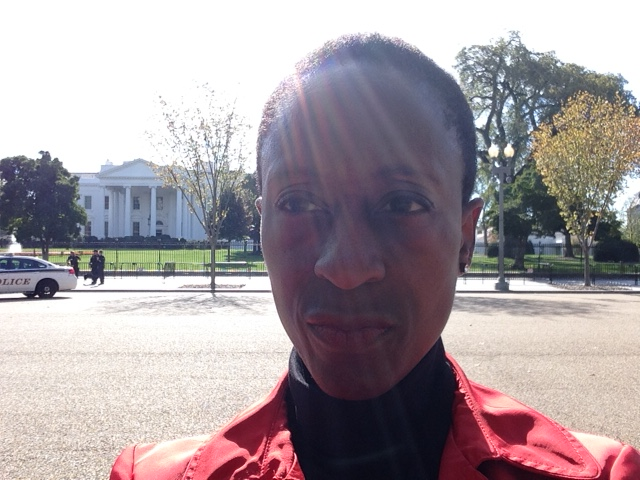 Selfie Outside Whitehouse 2016